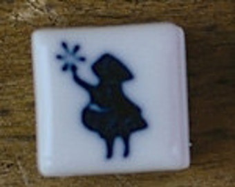 Porcelain Stamp Little Thumbelina