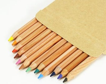Palomino Forest Choice of 12 Colour Pencils BIRTHDAY CHRISTMAS Gift Kris Kingle Idea Party favor