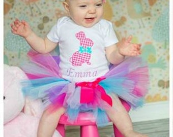 1st Easter Bunny Tutu Outfit, Easter Tutu Outfit, Easter Tutu, First Easter Tutu Outfit