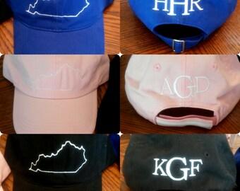 Kentucky monogram hat