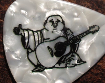Buddha Guitar Pick, Four Picks