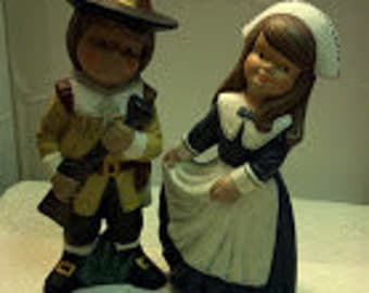 Set of Pilgrim Children