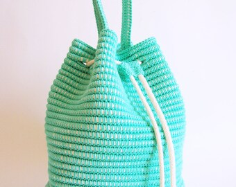 Tapestry Crochet Drawstring Bag Pattern : Popular items for pattern with chart on Etsy
