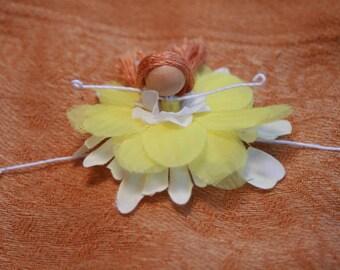 Sunlight Yellow Flower Princess