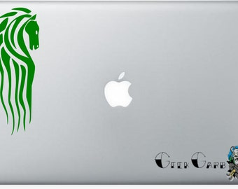 Lord of the Rings inspired Riders of Rohan Macbook Decal - Car Decal, Laptop Decals, etc...