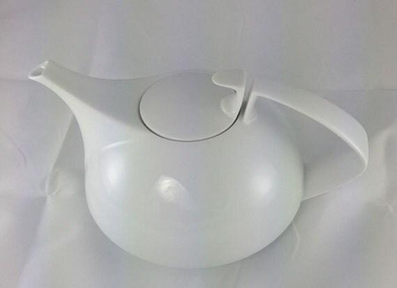 gropius teapot rosenthal studio line white walter gropius