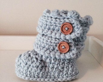 Toddler Crochet Slippers
