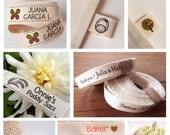 "Custom Clothing Labels - 4 YARDS | 0.6"" width 
