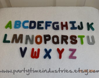 4 Letter ABC Shaped Crayons