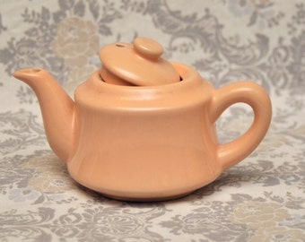 Peach Tea Pot