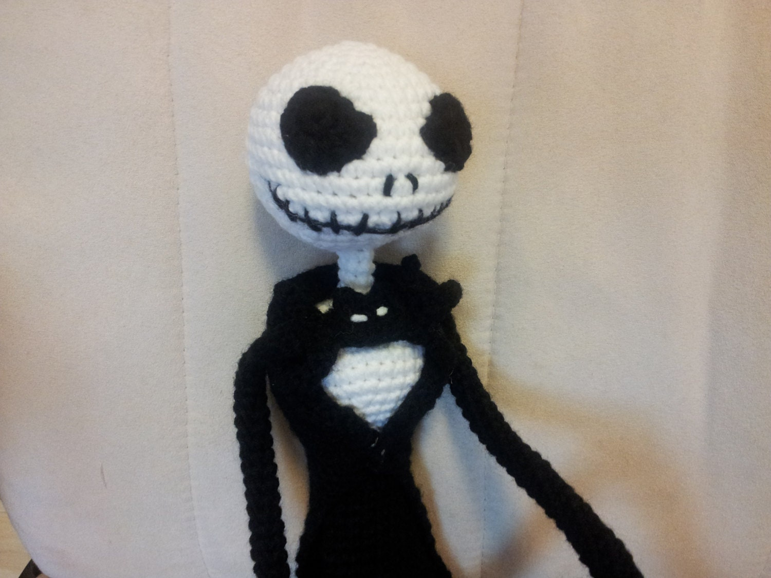 Amigurumi Jack Skellington Pattern : Jack Skellington crochet pattern