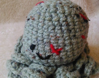 Jayson the crochet zombie octopus