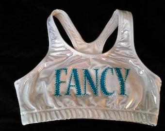 FANCY Metallic Sports Bra