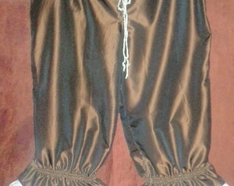 Steampunk/Victorian Root Beer Brown Bloomers Size L