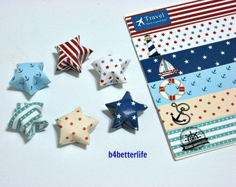 180 strips of DIY Origami Lucky Stars Paper Folding Kit. 26cm x 1.5cm. #K006. (XT Paper Series).