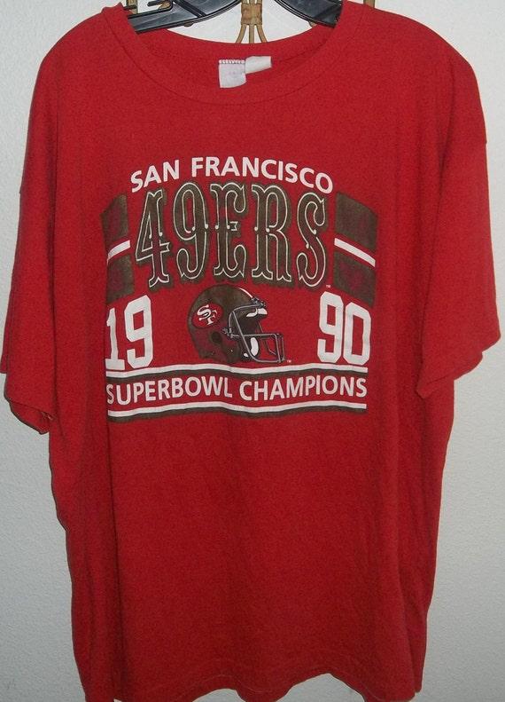 Items Similar To Vintage 1990 San Francisco 49ers