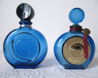 2 Vintage empty perfume bottles Rochas collector