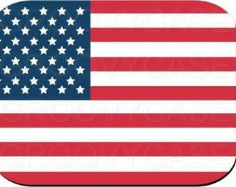 Mouse Pad American Flag