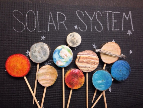 planets cake toppers-#11