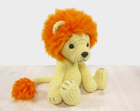 PATTERN: Lion Amigurumi lion pattern Crochet tutorial with