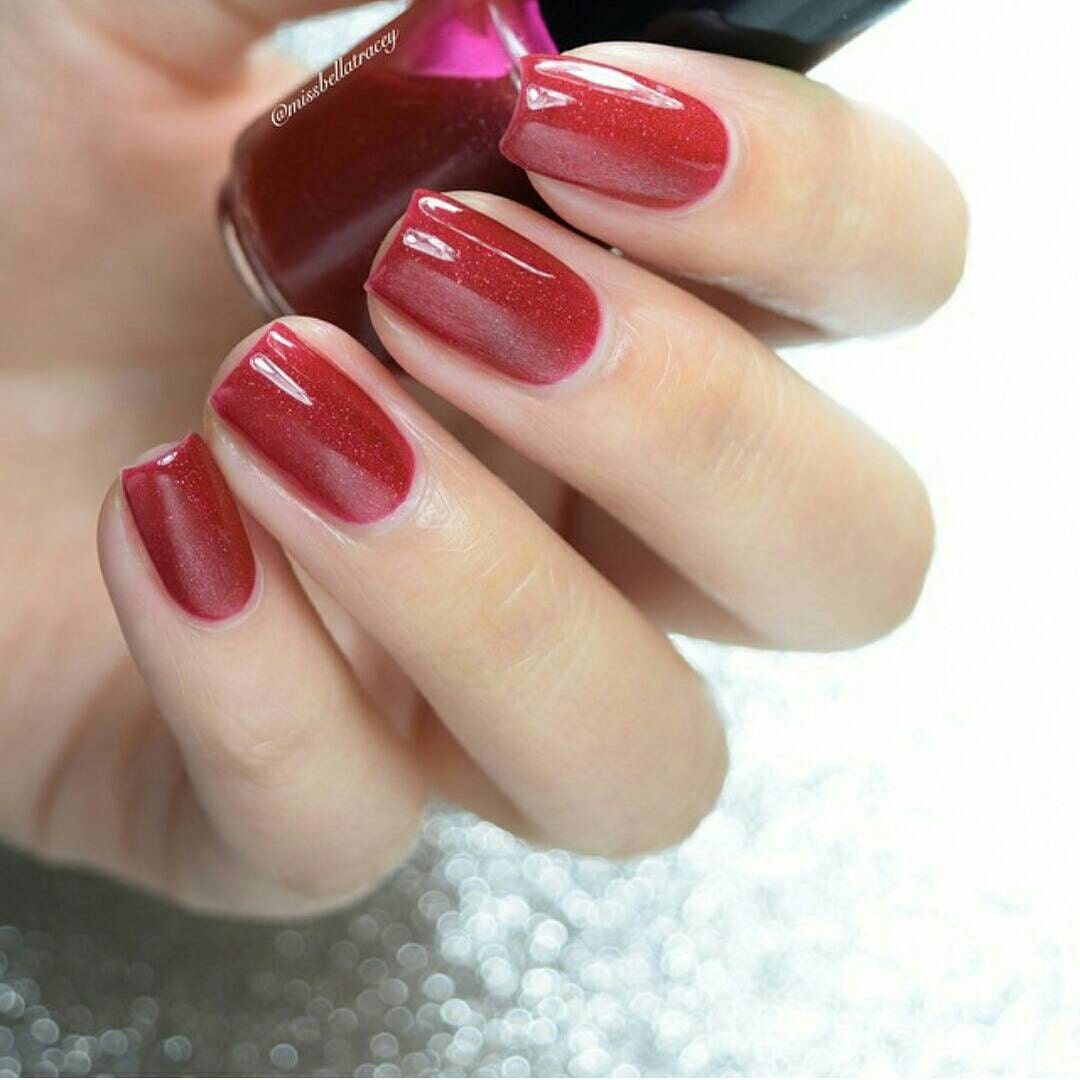 Nail Colors Burgundy: Mrs Claws Red Nail Polish Burgundy Nail Polish By MTLCreations