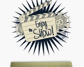 Enjoy the show | Wall Quote Decals
