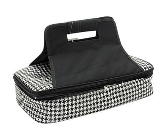 Houndstooth Insulated Picnic Bag