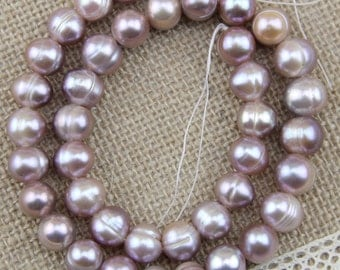 10mm purple potato pearl strand,freshwater pearl bead,near round pearls,large hole pearls,0.8mm,1.0mm,1.5mm,1.8mm,2.0mm,2.2mm,2.5mm,3.0mm