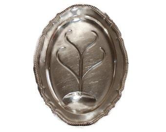 HUGE Sheffield Silver Meat Platter