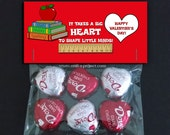 Valentine Bag Topper - It Takes A Big Heart