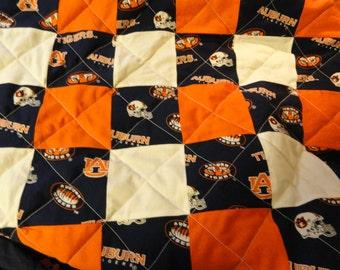 Auburn University Tigers Full Size quilt