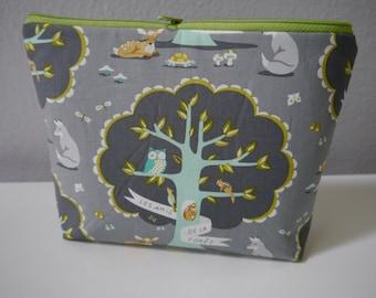 Cosmetic Clutch | Zippered Clutch | Cosmetic Pouch | Zippered Bag | Zippered Pouch | Toiletry Bag | Beauty Pouch