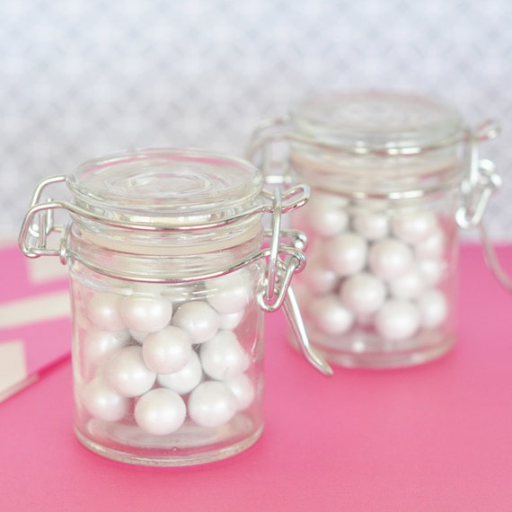 Mini Glass Jars Mini Jar Favors DIY Homemade Favors Of