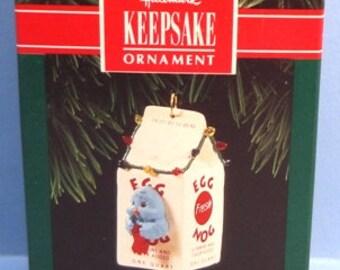 1992 Egg Nog Nest Hallmark Retired Ornament