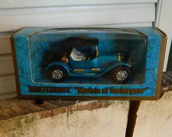 Vintage Matchbox Models of Yesteryear - 1914 Stutz Roadster - V-8