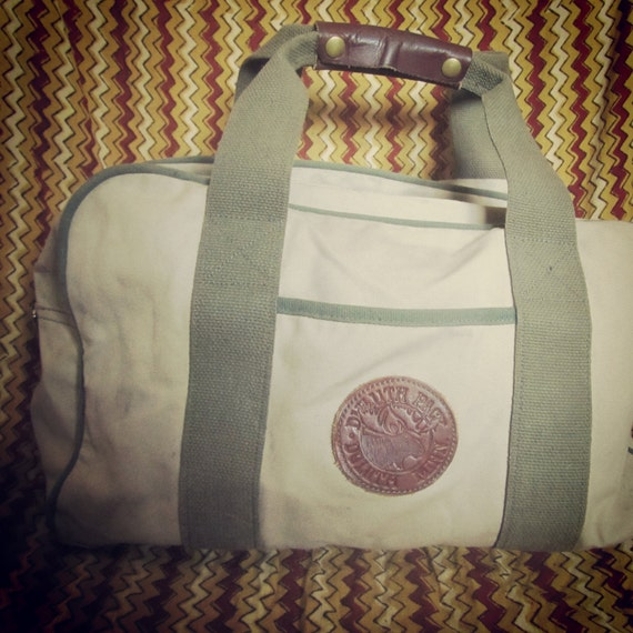 Duluth Pack Duffel Bag Carry All Carry On Stone Canvas