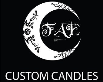 "Custom Scented 3x6.5"" Pillar Candle ! - Highly Scented Your Choice - Far Arden's FAE Candles Free Shipping"