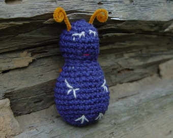 Crocheted Sleepy Minuscule