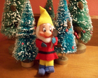 Vintage Christmas Elf - Santa's Little Helper