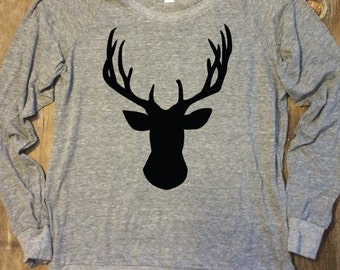 Stag Ugly Sweater Alternative Pullover