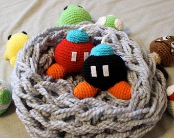 Crochet Mario Bob-omb BOMB