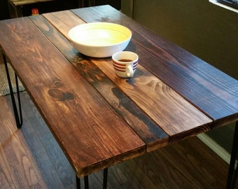 Multistain Industrial Dining Table
