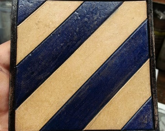 3rd Infantry Division Leather patch 4 X 4 inches