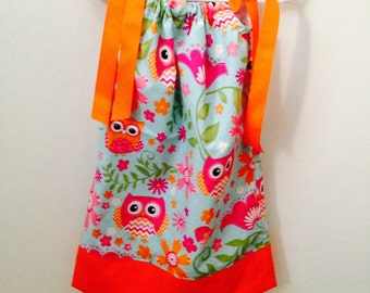 Owl Pillowcase Dress!!!