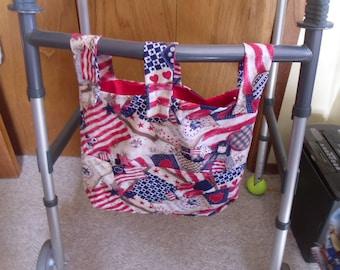 Patriotic Angels, God Bless America Walker organizer bag