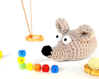 Crochet Amigurumi mouse