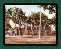 Old Tithing House Salt Lake City 1899 - US Street Scenes Print - Vintage - United States - SG6038