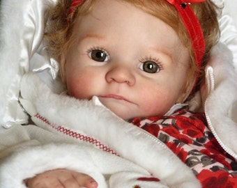 "Reborn Vinyl Doll Kit Supply Baby JESSE 19"" by  Kelly Rubert Realistic  3597"