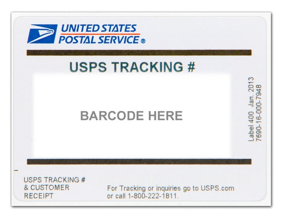 Add on- USPS tracking for your order