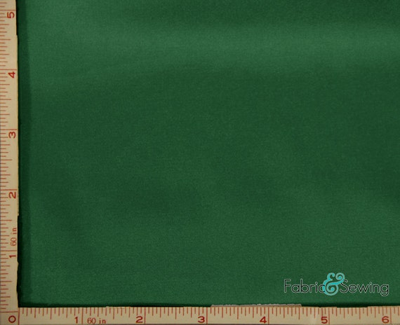 Emerald green shiny dull stretch charmeuse satin fabric for Emerald satin paint